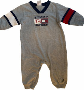 Tommy Hilfiger Baby 6-12 MO Body Suit Outfit Long Sleeve