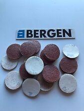 """Bergen/Vewerk Hook & Loop Sanding Pad Mixed Grit  2""""/50mm x 100 8113"""