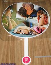 2NE1 I LOVE YOU NEW EVOLUTION YG OFFICIAL GOODS PLASTIC PICKET FAN NEW