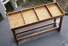1:12 Scale Mahogany Wood Display Counter Tumdee Dolls House Miniature Shop B