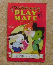 Children´s Play Mate Magazine/ April/ Spring Contest Number/ Vol. 8/ No. 11/1937