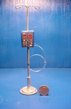 Miniature Patient Monitor with IV Stand CFML-2 Dollhouse