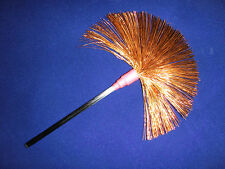 Copper and Carbon Fiber NERVE BRUSH for Violet Wand Ray, Sparks from every Wire!