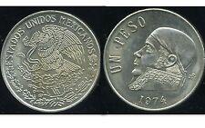 MEXIQUE 1 peso 1974  SUP