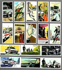 CIGARETTE/TRADE/CARDS.Brooke Bond Tea. POLICE FILE. (Complete Set of 40).(1977).