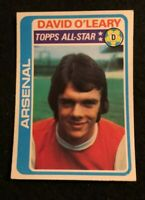 TOPPS 1979 FOOTBALL CARD #360 ARSENAL DAVID LEARY ALL-STAR