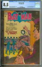 BATMAN #85 CGC 8.5 OW PAGES // GOLDEN AGE JOKER + VICKI VALE APPEARANCE