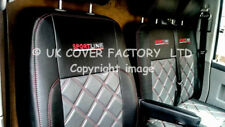 MERCEDES VITO DUALINER  5 / 6 SEATER VAN SEAT COVER GREY BLACK  STITCH BENTLEY