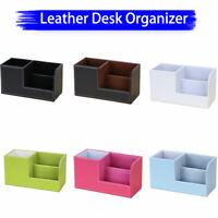 Stiftehalter Schreibtisch Organizer multi Fächer Stiftbox Bürobedarf Stifthalter