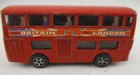 Vintage Retro Corgi Junior 1980's Daimler Fleetline  -  London Bus
