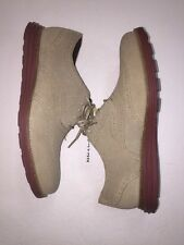 COLE HAAN ORIGINAL GRAND WINGTIP C21132 SUEDE MILKSHAKE NO LUNAR OXFORD SZ 7 M