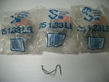 T-Post Style Fence Clip Post Fasteners Clips (3) Bags of (25) Total of(75)