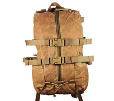 Hill People Gear Tarahumara Backpack Waxed Canvas Tan Ultralight Bushcraft Pack
