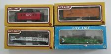 4 Life-Like HO Scale Train CP CN Rail Canadian National Pacific Freight Caboose