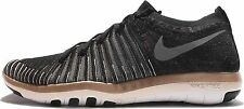 WOMENS NIKE FREE TRANSFORM FLYKNIT TRAINERS Size UK 8 (833410 005) BLACK/GOLD