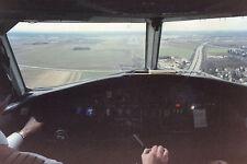 Court Line BAC 111 G-AXMF Flight deck arr Munich Airport -  6x4 Print