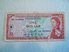 Paper Money, East Caribbean Currency Authority, 1 Dollar
