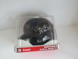 Lamarr Hoyt Autographed Chicago White Sox Mini Helmet
