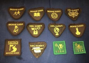 BROWNIE GUIDES GIRL GUIDES BADGES PATCHES