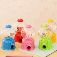 Cute Saving Coin Box gumball Mini Candy Machine Dispenser Bubble Kids Gift Hot