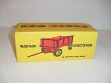 1/20 Vintage Massey Harris Barge Wagon by Reuhl (1952) NIB! Unopened! MINT!