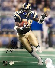 Marshall Faulk St Louis Rams Signed 8x10 Photo JSA