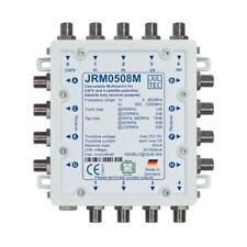 Jultec JRM 0508M Sat-Multischalter 8 Teilnehmer | 1 Satellit, kaskadierbar, HDTV
