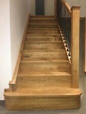 13 X  Double Side Curved  Bullnose Solid Oak Stair Cladding   - 100% WHITE OAK