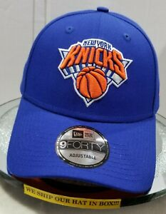 New York Knicks~NBA~New Era~9FORTY~The League~Blue & Orange~Adjustable