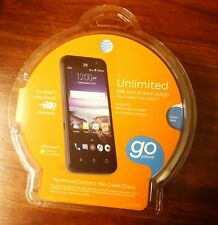 "Brand New, Sealed (AT&T GoPhone) ZTE Maven Quad Core 8GB 4.5"" Prepaid Smartphone"