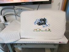 Brother Quilted Embroidery Sewing Machine Cover - Fits Quattro and Ellisimo