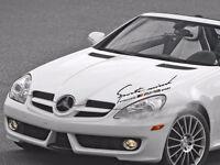 AMG Emblem Auto Decken Sie Dekoration Personalisierte Aufkleber für Benz