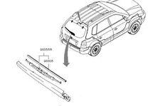 Genuine Hyundai Tucson 2004-Spazzola Tergicristallo Posteriore - 988202E000