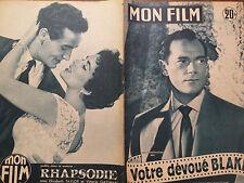 "MON FILM 1955  N 443 "" VOTRE DEVOUE BLAKE"" avec EDDIE CONSTANTINE"