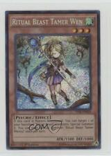 2015 Yu-Gi-Oh! The Secret Forces #THSF-EN024 Ritual Beast Tamer Wen Card 0b5