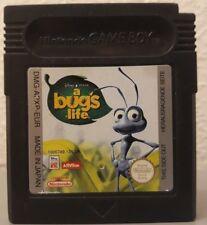 Nintendo Gameboy Color Disney Pixar's A Bug's Life Cart Only