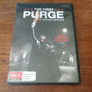 The First Purge DVD R4 Like New! FREE POST