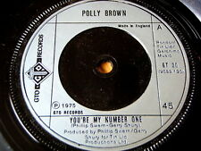 """POLLY BROWN - YOU'RE MY NUMBER ONE  7"""" VINYL"""