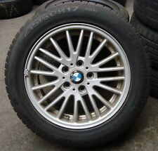 4 BMW Winterräder Styling 110 E83 X3 215/60 R17 96H ALUFELGEN 3401198 17 Zoll