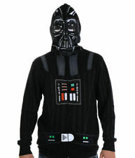 STAR WARS DARTH VADER MASKED HOODIE JACKET MENS SIZE (S) 34/36