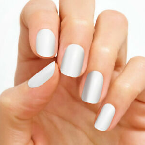 NIP Color Street Nail Polish Strips HTF  SWISS AND TELL white