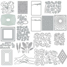 Shrub Flower Metal Cutting Dies Stencil DIY Scrapbooking Paper  Embossing Crafts