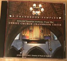 A Cranbrook Sampler: Select Favorites From Christ Church Cranbrook Organ CD OOP