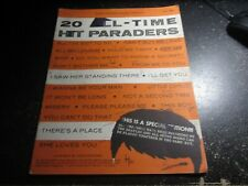 Easy Piano - Easy Organ Songbook: No. 55 20 All -Time Hit Paraders