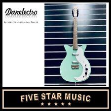 DANELECTRO Stock '59 in Aqua Electric Guitar **NEW**