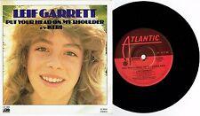 "LEIF GARRETT - PUT YOUR HEAD ON MY SHOULDER - 7"" 45 VINYL RECORD w PICT SLV 1978"