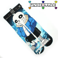 """4x16"""" Game Undertale short Cotton Socks Colorful Cute Cosplay Blue  Stockings"""