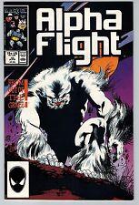 Alpha Flight #45 1987 (C5964) Marvel