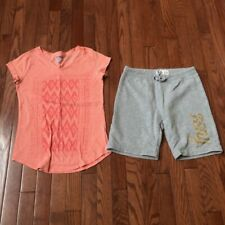 Lot of 2 Pcs Girls Outfirs, Size 12, Pre-owned