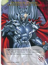 STRYFE Upper Deck Marvel Legendary MASTERMIND TACTIC FURIOUS WRATH
